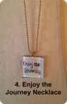 enjoy the journey necklace blog